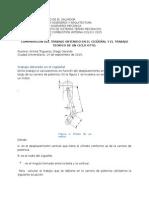 Comparacion Del Trabajo Ideal vs Mecanico Ciclo Otto
