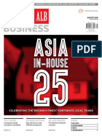 Clearing House, Asian Legal Business, August 2015 issue