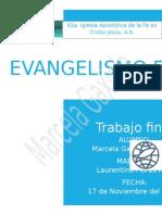 Trabajo Final de Evangelismo Explosivo