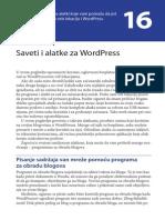 Saveti i alatke za WordPress