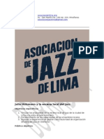 Propuesta Julia Hülsmann y La Escena Local Del Jazz