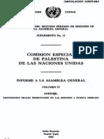 Reporte a La AG IV Español
