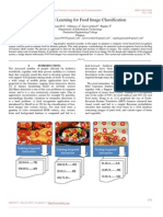 Large Scale Learning for Food Image Classification