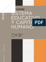 Sistema Educativo y Capital Humano