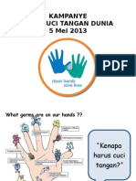 Kampanye Cuci Tangan RS