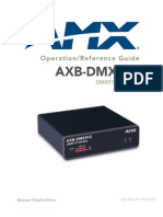 AXB-DMX512.OperationReferenceGuide