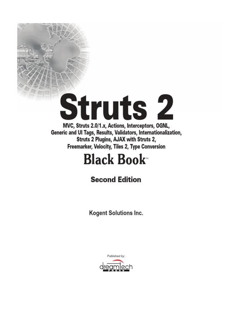 Struts2 Black Book | Java Server Pages | Java (Programming