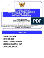 SME Financing Through Credit Guarantee Scheme Indonesia Experience