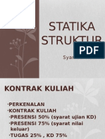 Statika Struktur i