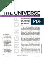 2-The Origin of the Universe