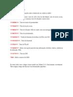 Lista de Códigos1
