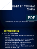 The Problem of Vascular Access