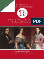Federico de Madrazo en las colecciones del Museo del Romanticismo