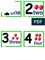 Small Number Cards