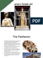 Athena's Greek art