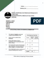 2015 PSPM Kedah Kimia3 w Ans