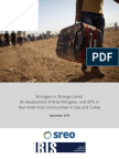 Strangers in Strange Lands - An Assessment of Arab Refugees and IDPs in Non-Arab Host Communities in Iraq and Turkey