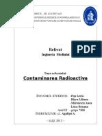 Poluarea radioactiva