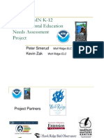 Northeast MN K-12 Environmental Education Needs Assessment Project (306-11-08)