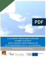 Lanaren prekarizazioari aurre egiten. Hitzarmen sektorialak autonomoentzat (Alemania)
