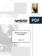Symicron Remote Access Router (Manual)