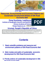 Resources Environmental and Economic Patterns and Sustainable Development Modes of Silk Road Economic Belt