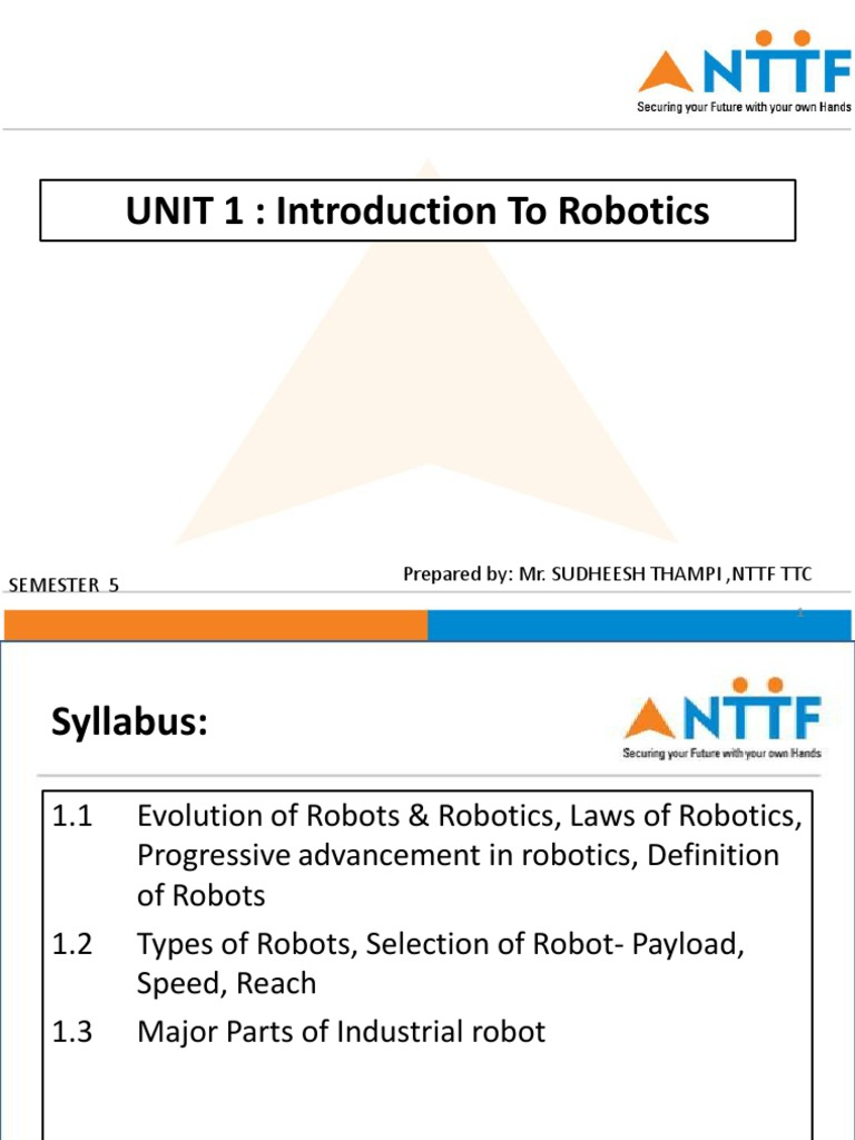 Robotics Technology Robot
