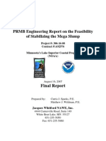 PRMB Engineering Report on the Feasibility of Stabilizing the Mega Slump (306-16-08)