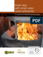 Green heat with small-scale wood combustion