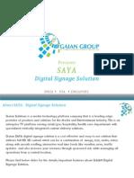 Digital Signange Solutions India