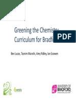 Green Chemistry_Bradford, UK