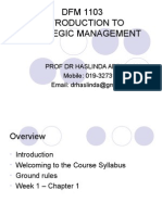 1_Introduction to Strategic Management