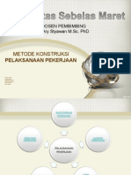 Metodekonstruksi Pelaksanaanpekerjaan 140610025422 Phpapp02