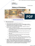 Origin of Christmas _ the History of Christmas and How It Began