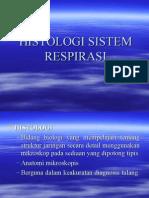 g.kp 5.8 Dr. Marliza, Sp.p Histologi Sistem Respirasi