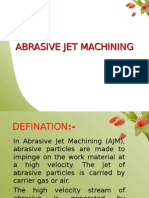 122104185 Abrasive Jet Machining Ppt