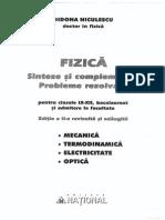 Fizica - Sinteze Cls IX-XII