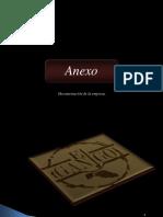 Anexo. Documentación de la empresa