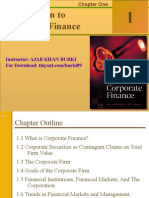 Chapter 01 Introduction to Corporate Finance