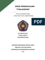 LP Thalasemia Ajg