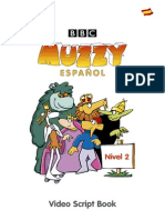 Muzzy Scriptbook Level II Spanish
