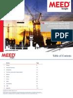 GCC Construction Sample TOC