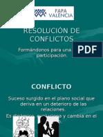 Curso Resolución de Conflictos