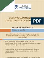 Desenvolupament de l'afectivitat i La Sexualitat