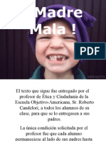 DINÁMICA 5  MalosPadres