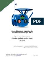 Curso Básico Capacitación Actuadores MX-A Limitorque 2.1