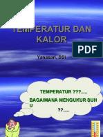 Temperatur Dan Kalor