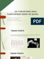 Maquinas Industriales Para Materialidad Tejido de Punto