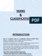 Classification of yarn