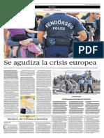 Se Agudiza La Crisis Europea